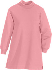 Cozy Turtleneck Tunic Has Sweatshirt Comfort with Dressed-Up Lines