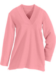 A Stylish V-Neck Tunic So Comfortable You May Never Take It Off!