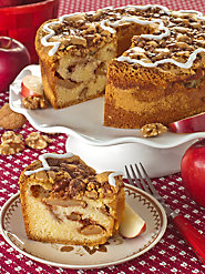 Lush, Moist Apple Cake: At Its Core, Fresh Apples from the Northeast