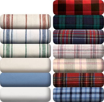 Portuguese Cotton Flannel Sheet Blanket