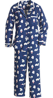 Womens Lanz of Salzburg Puppy Love Pajamas