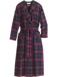 Eileen West Regal Plaid Robe