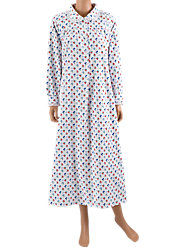 Lanz Floral Dot Nightgown