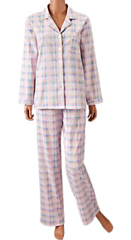 Pastel Plaid Flannel PJs