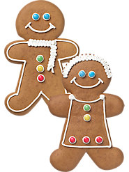 Undecorated Gingerbread Man