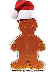 Maple Syrup Gingerbread Boy Bottle