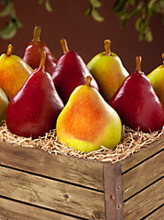 Comice and Red Rogue Pears