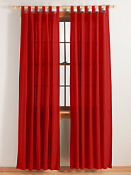 Rib Cord Curtains