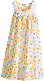 Lanz Citrus Print Nightgown