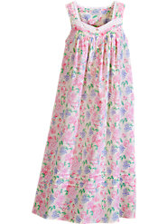 Lanz Floral Bouquet Nightgown