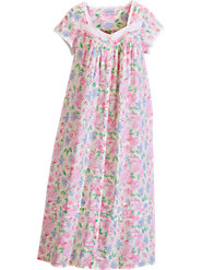 Lanz Floral Bouquet Robe
