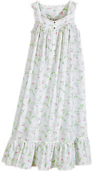 Women's Eileen West Lily of the Valley Cotton Lawn Nightgown
