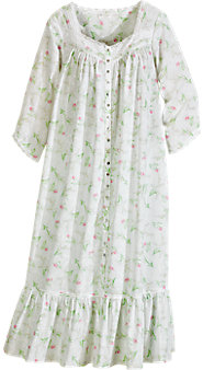 Eileen West Lily of the Valley Cotton Lawn Robe