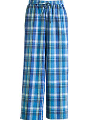 Seersucker Plaid Pants