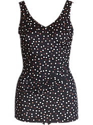 Roxanne Polka Dot Sheath Suit