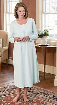 Women's Long-Sleeve Sweet Dreams Nightgown