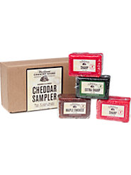 Try Each of Our Aged Mellow Vermont Cheddars in Our Five-Flavor Sampler