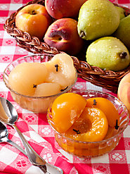 Spiced Peaches or Spiced Pears