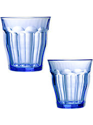 Marine Blue Picardie Tumblers (Set Of 6)