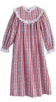 Girls' Lanz Tyrolean Nightgown