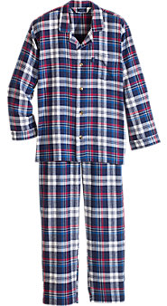 Men's Izod Plaid Flannel PJs