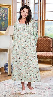 Womens Slumber Birds & Berries Nightgown