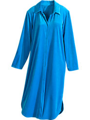 Brilliant Jewel Velour Nightshirt