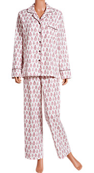 Woodlands Berry Flannel Pajamas