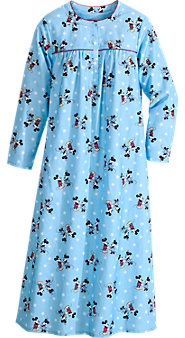 Classic Disney Minnie and Mickey Nightgown