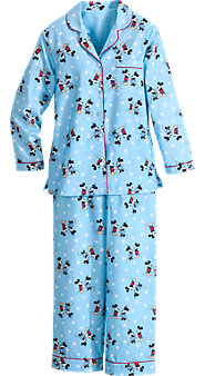 Classic Disney Minnie and Mickey PJs