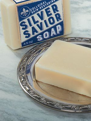 Colloidal Silver Soap For Eczema And Psoriasis