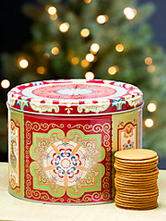 Gift Tin of Genuine Gingersnaps