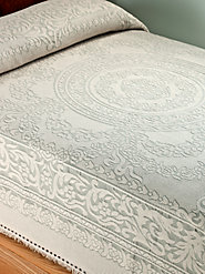 Regal Medallion Bedspread