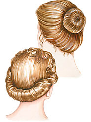 Hair Roll and Bun