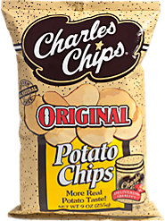 Charles Chips Refill Bag for When Your Charles Chips Tin Needs Restocking