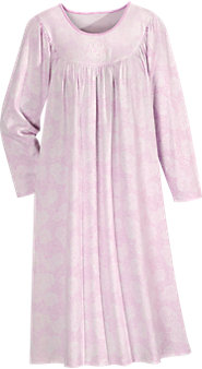 Calida Long-Sleeve Print Nightgown