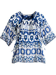 Summer Breeze Cotton Tunic