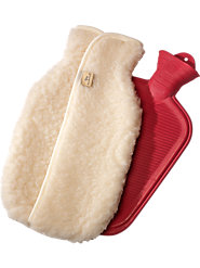 Wool Fleece Hot Water Bottle Cozy