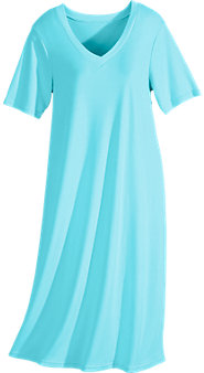 Soft-and-Sumptuous Knit Nightgown