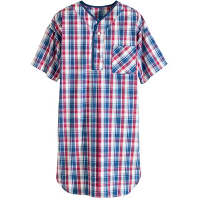 Buy mens nightshirts - Nautical Nights All-Cotton Nightshirt