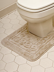 Scroll 2-Piece Bath Rug Set
