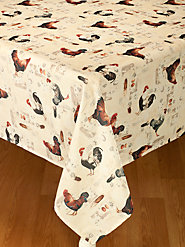 Rooster Tablecloth