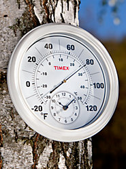 Timex<sup>®</sup> Thermometer With Clock
