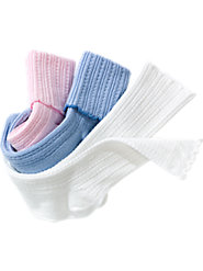 Pointelle Socks (Pkg. of 3 Pairs)