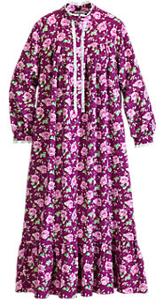 Lanz Lady Rose Flannel Nightgown