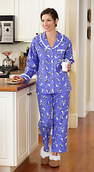 Lanz Moonlight In Vermont Pajamas