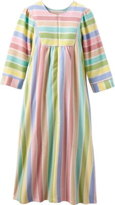Fleece Robe For Women Zip Front Fleece Bathrobe