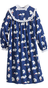 Girls' Lanz Puppy-Love Gown