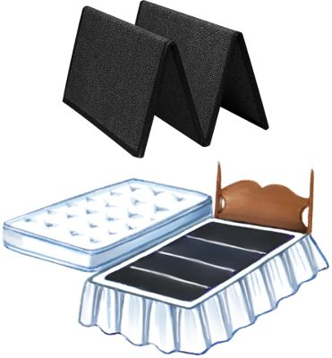 Folding Bed Boards Mattress Support
