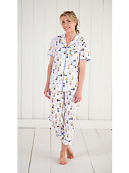 Peanuts print 100% cambric cotton pajamas